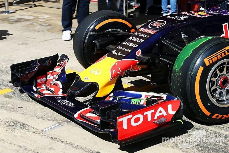 """La nueva nariz de Red Bull es una """"obra maestra de la ingeniería"""""""