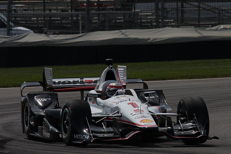 """Un """"sacré sentiment"""" que de partir en pole à Indy pour Power"""
