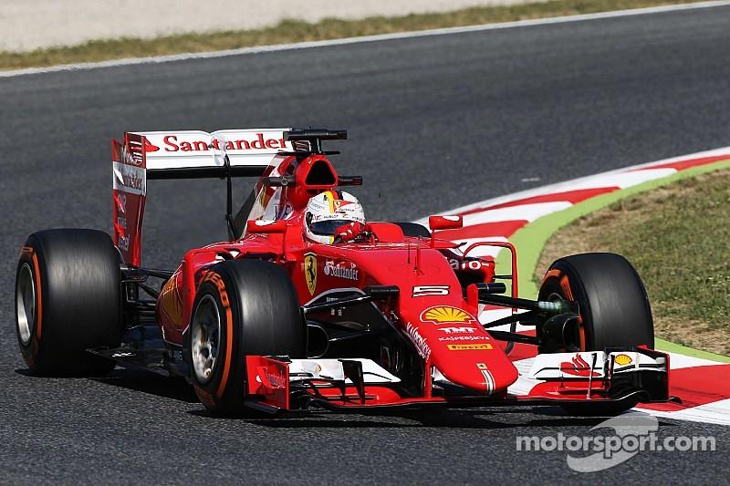 Vettel no está decepcionado por la calificación