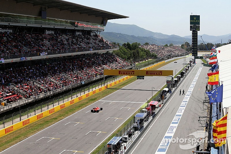 Spanish GP: Provisional starting grid