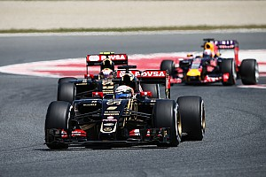 Formula 1 Race report After an eventful Spanish GP, Lotus' Grosjean finish in 7th