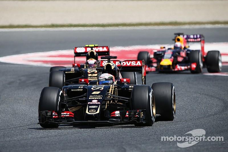After an eventful Spanish GP, Lotus' Grosjean finish in 7th