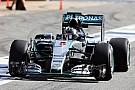 Rosberg domina las pruebas en Barcelona