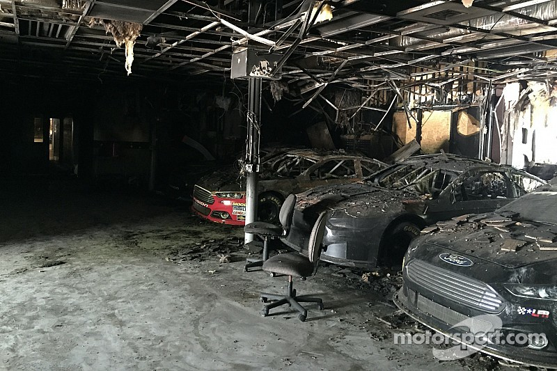 Images released of race cars destroyed in shop fire