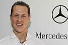 Schumi in pista a Jerez con una GP2