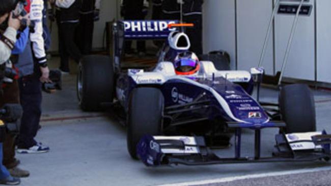 F1: Barrichello al top sul bagnato a Jerez