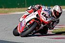 Fabrizio dominatore, doppietta Ducati in gara 1