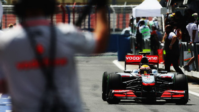 McLaren rivoluzionaria a Silverstone