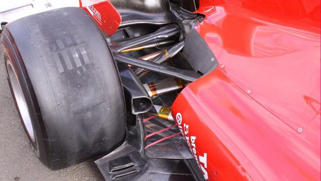 La Ferrari col ritardo di accensione a Hockenheim