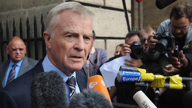 Anche Mosley chiede delle sanzioni per la Ferrari