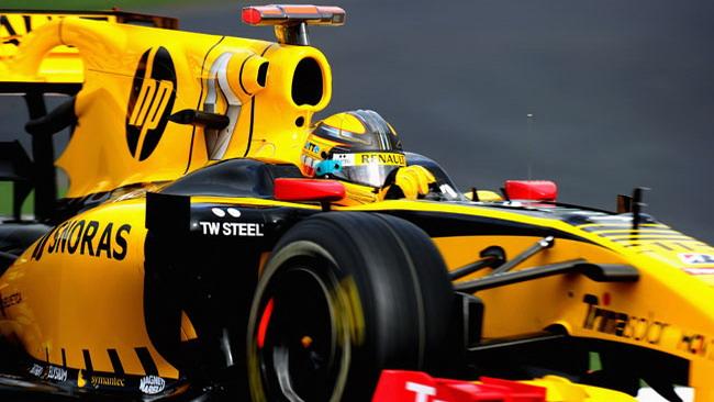 Kubica promuove l'F-duct della Renault