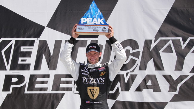 Prima pole in carriera per Ed Carpenter