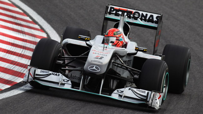 Schumi accusa la Mercedes di inequità