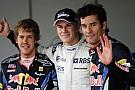 Il duo della Red Bull si complimenta con Hulkenberg