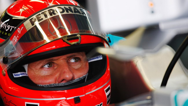 Le Pirelli sembrano piacere a Schumi