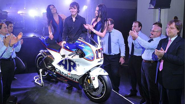Presentata la Ducati del team Cardion AB