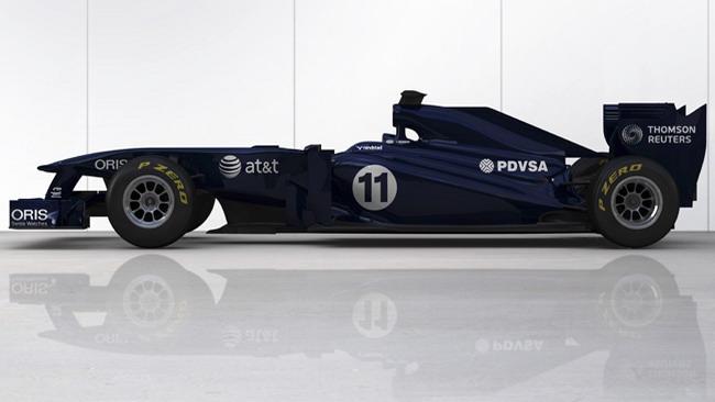 Ecco la prima immagine della Williams FW33