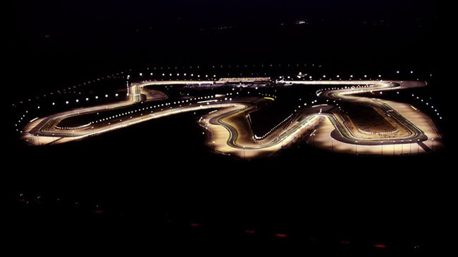 I test della MotoGp accendono la notte di Losail