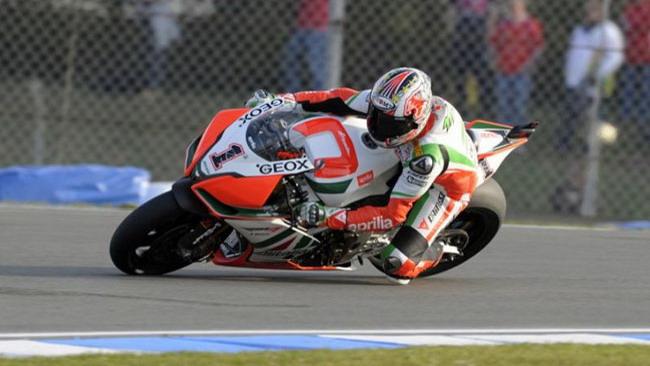 Donington, Q2: Biaggi sbaglia due volte, ma resta 1°
