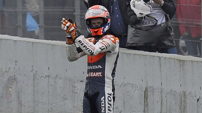 Ancora scintille tra Casey Stoner e Valentino Rossi!