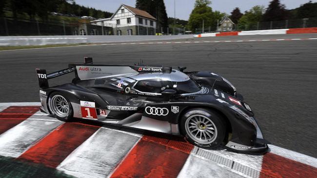 Tripletta Audi sulla griglia di partenza di Spa
