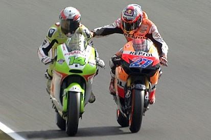 Tensione tra Stoner e De Puniet nel warm-up