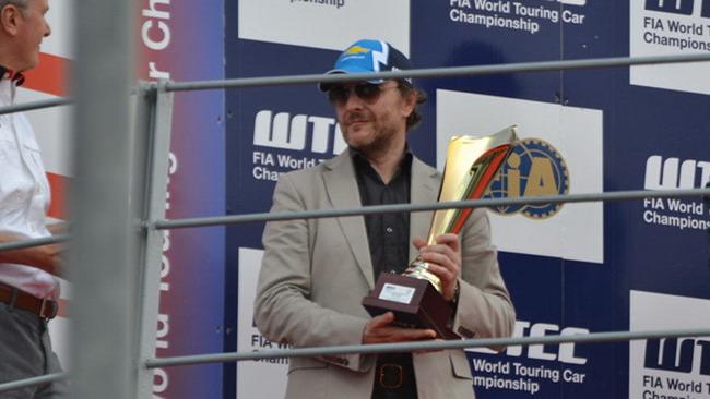 Il podio di Francesco Fontana Giusti