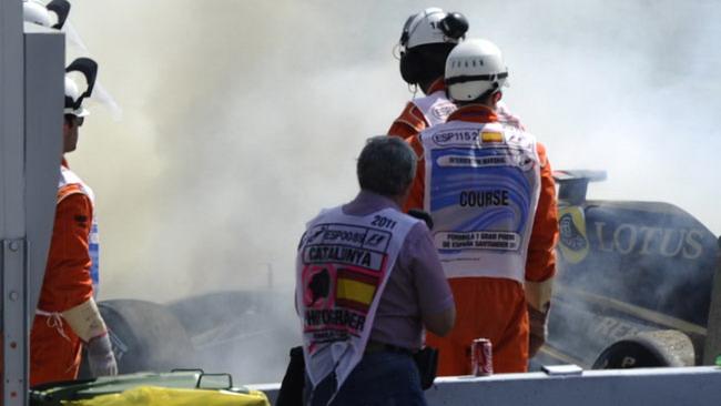 Heidfeld: incendio causato da un problema di scarichi