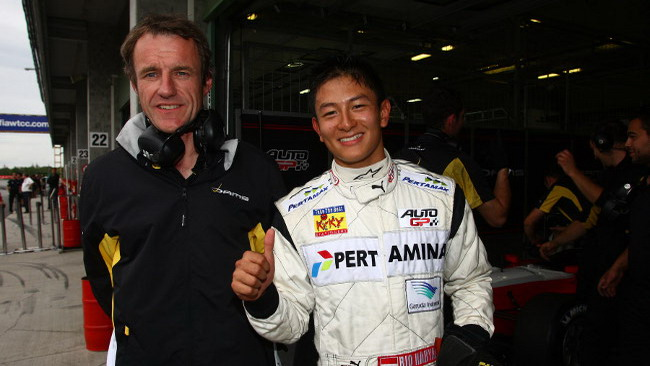 Ryo Haryanto in pole position a Brno