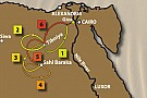 Presentato il percorso del Pharaons Rally 2011