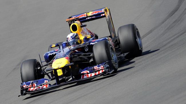 Sebastian Vettel davanti a tutti ancora una volta