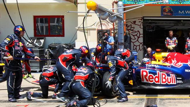 Esclusivo: ecco il segreto Red Bull Racing al pit stop!