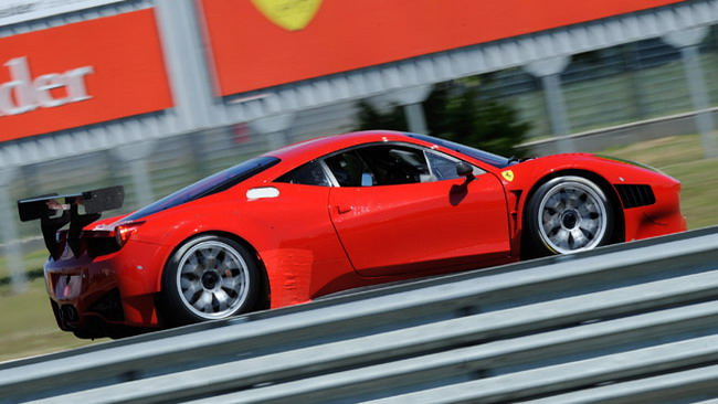 La Ferrari 458 Italia Grand Am debutta a Fiorano