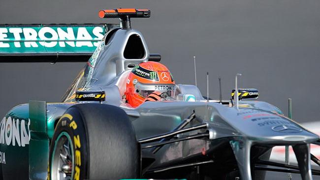 Schumacher viene retrocesso di una posizione
