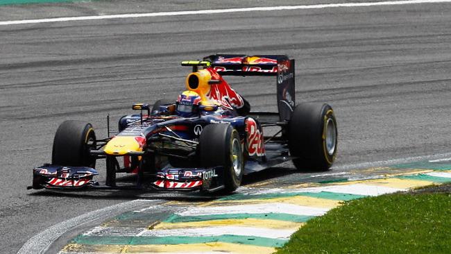 La prima di Mark Webber all'ultima gara