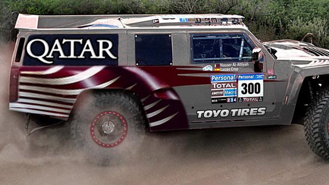 Al-Attiyah alla Dakar 2012 con un Hummer H3!