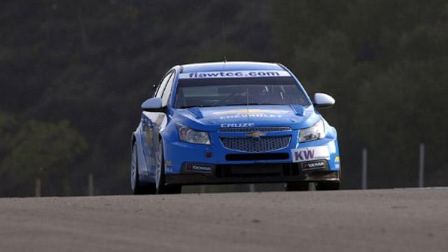 Primi test del 2012 per la Chevrolet a Valencia