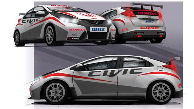Honda entra in veste ufficiale nel WTCC con la Civic!