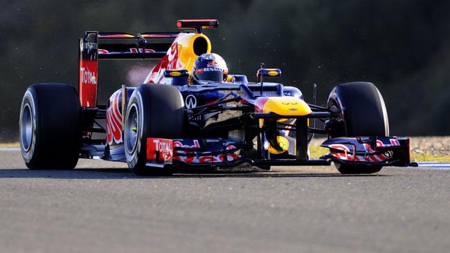 Jerez, Day 4, Ore 15: finalmente Vettel è sceso in pista