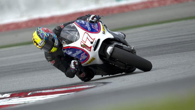 Test con la Ducati ufficiale per Abraham e Barbera