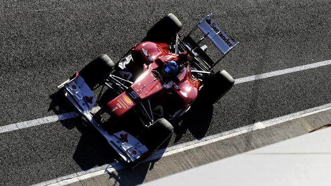 Test con la Ferrari F1 per il campione europeo FIA!