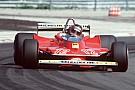 Un tributo di Jacques sulla Ferrari di Gilles
