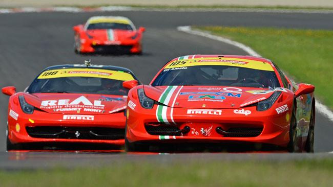 Di Amato s'impone a Imola in Gara 1 di Coppa Shell
