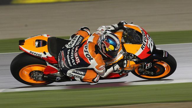 Pedrosa festeggia 100 gare in MotoGp a Jerez