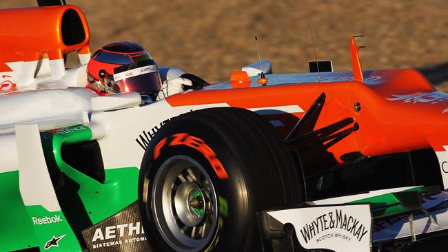 Jules Bianchi torna sulla Force India al Mugello