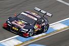 Mattias Ekström porta l'Audi in pole