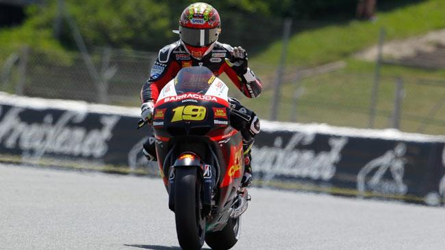 Bautista miglior pilota Honda nelle libere di oggi