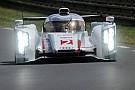Le Audi R18 e-tron volano nei test collettivi a Le Mans