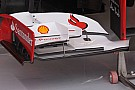 Alonso con la nuova paratia dell'ala anteriore