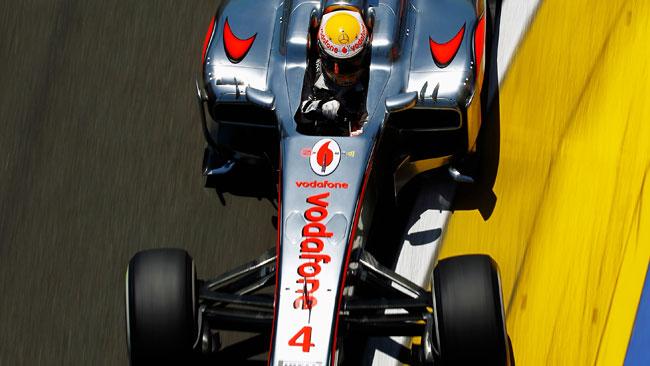 La McLaren perderà lo sponsor Vodafone